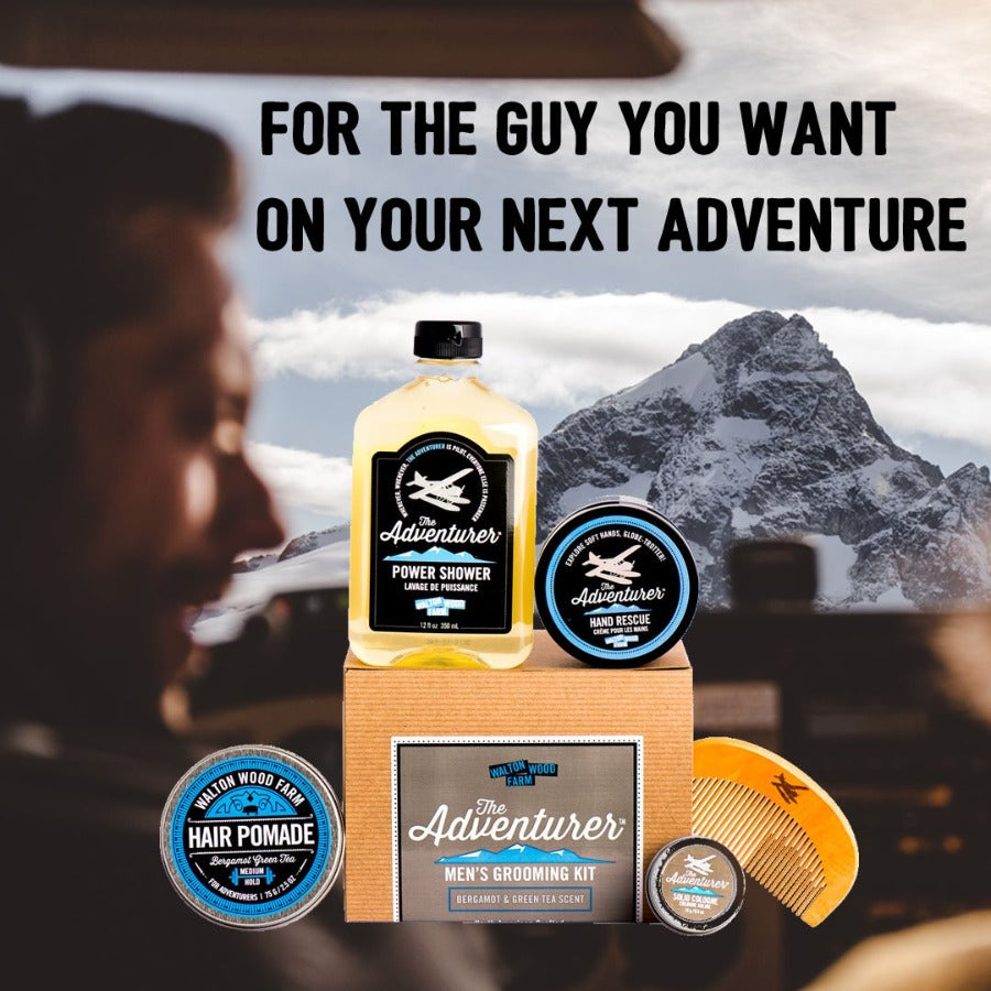 THE ADVENTURER PREMIUM GROOMING KIT