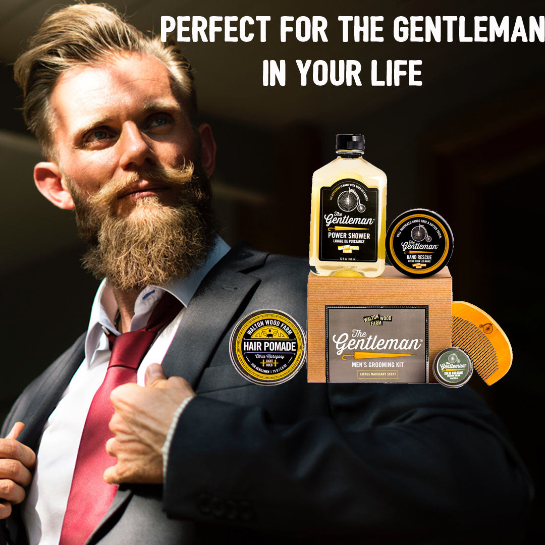 THE GENTLEMAN PREMIUM GROOMING KIT