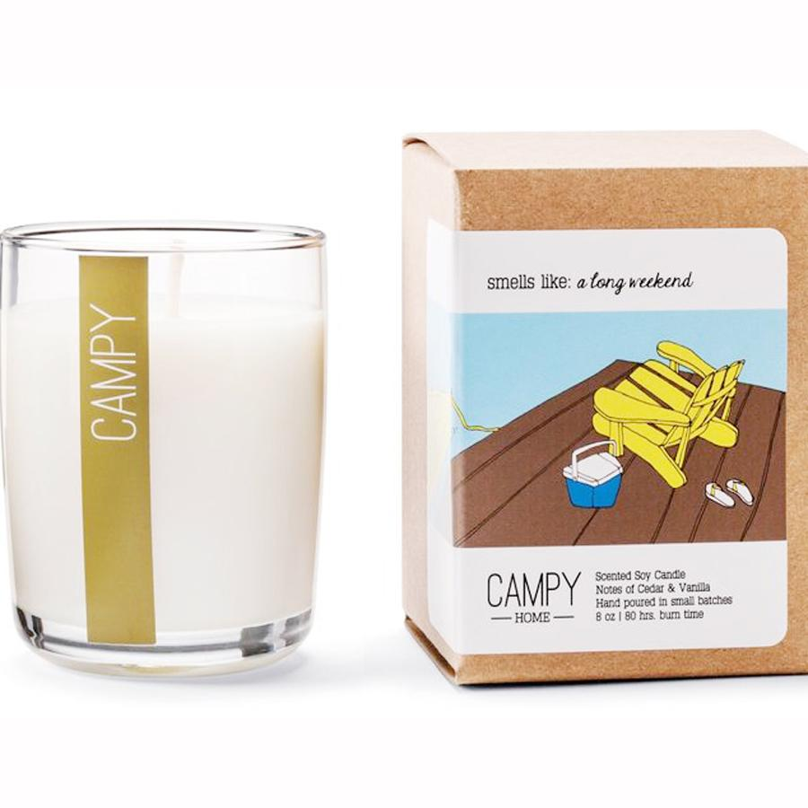 """A Long Weekend"" Soy Candle"