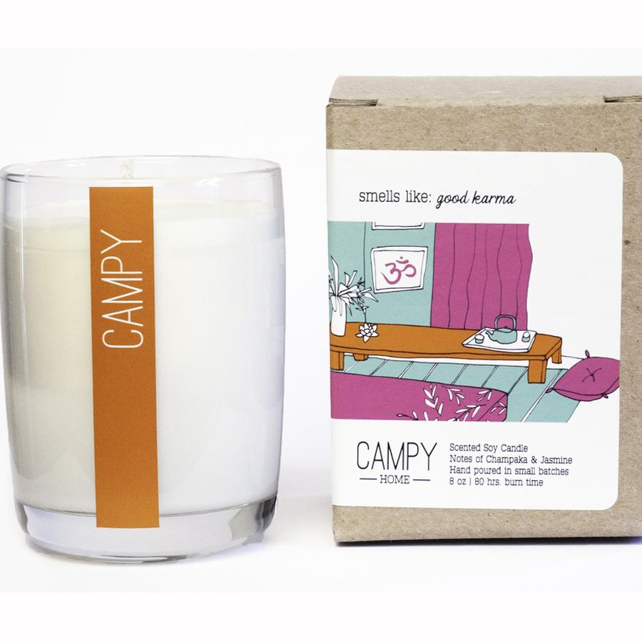 """Good Karma"" Soy Candle"