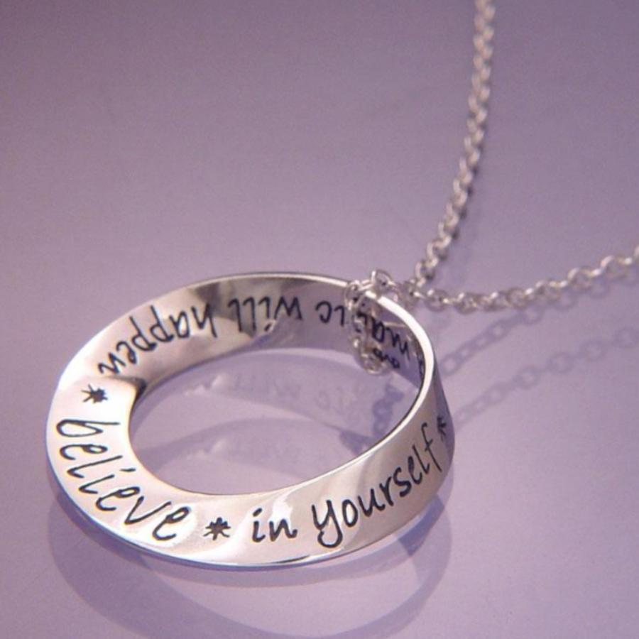 Believe in Yourself and Magic will Happen Necklace