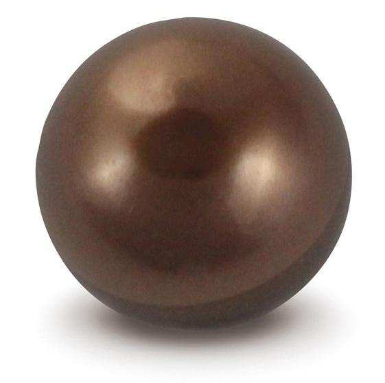 Chocolate Faux Pearl Marble