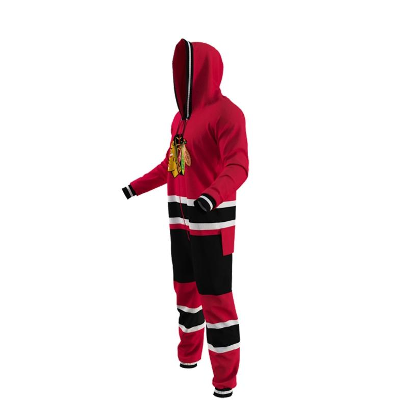 Chicago Blackhawks Hockey Sockey NHL Onesie