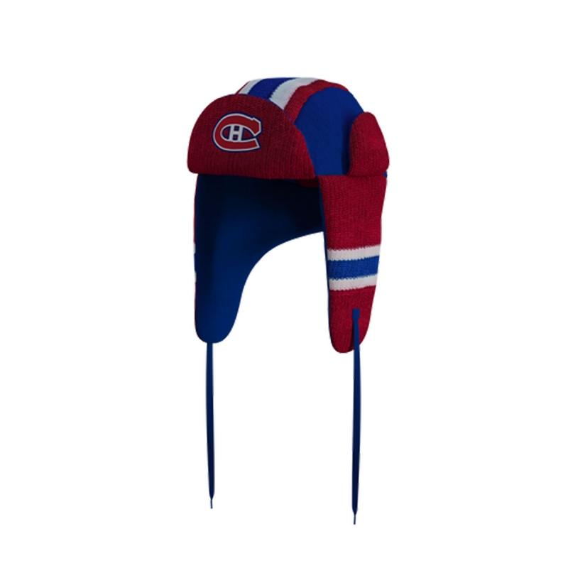 Montreal CanadiensHockey Sockey Reversible NHL Trapper Hat