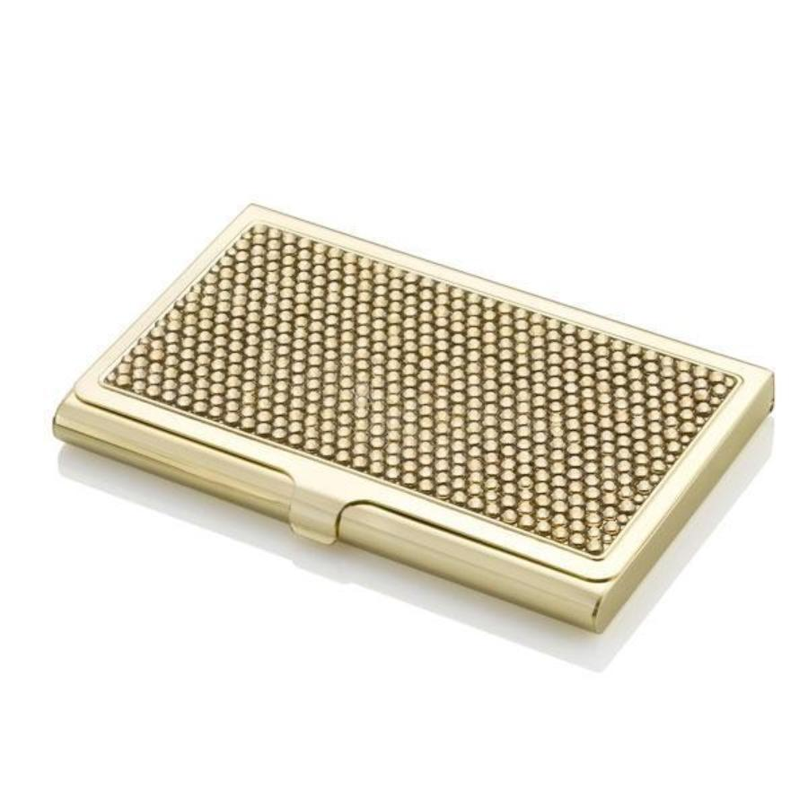 Gold Princess Business Card Case