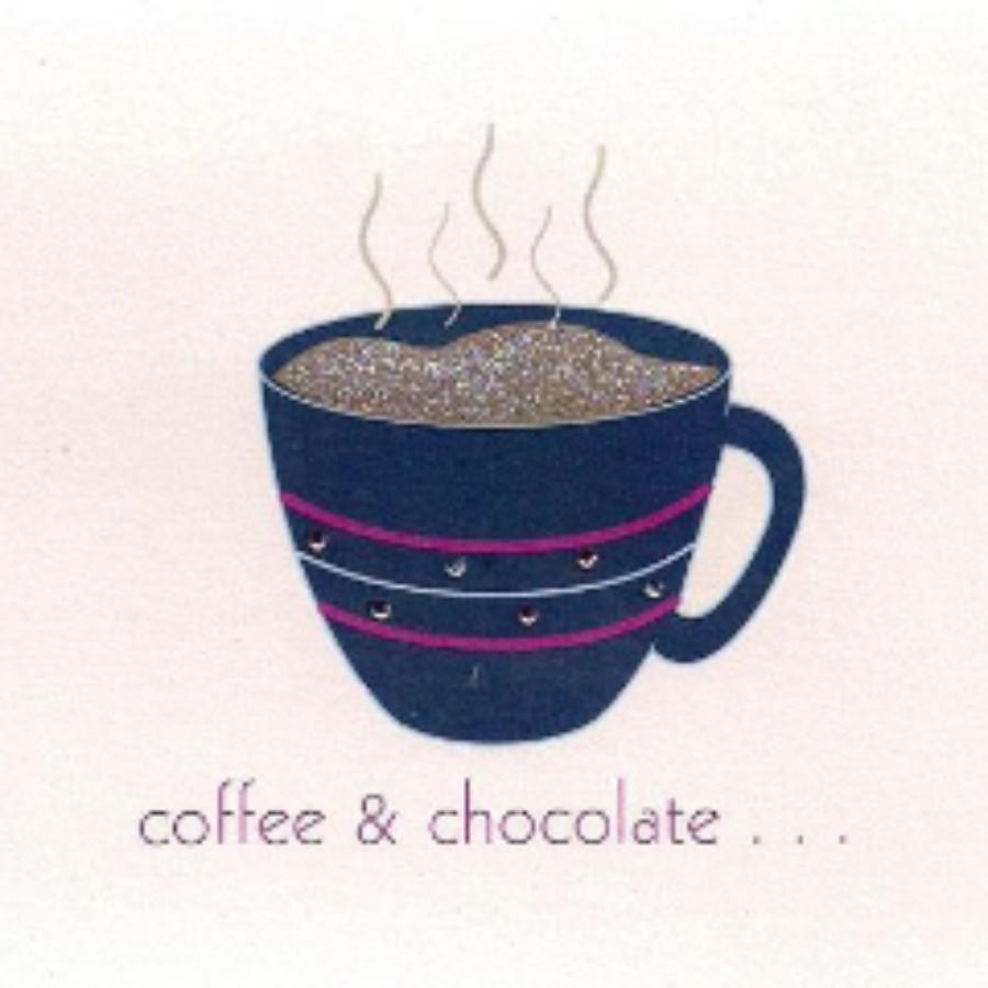 Coffee & Chocolate Greeting Card