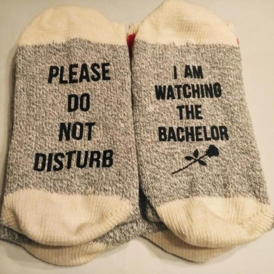 The Bachelor Unisex Cotton Socks