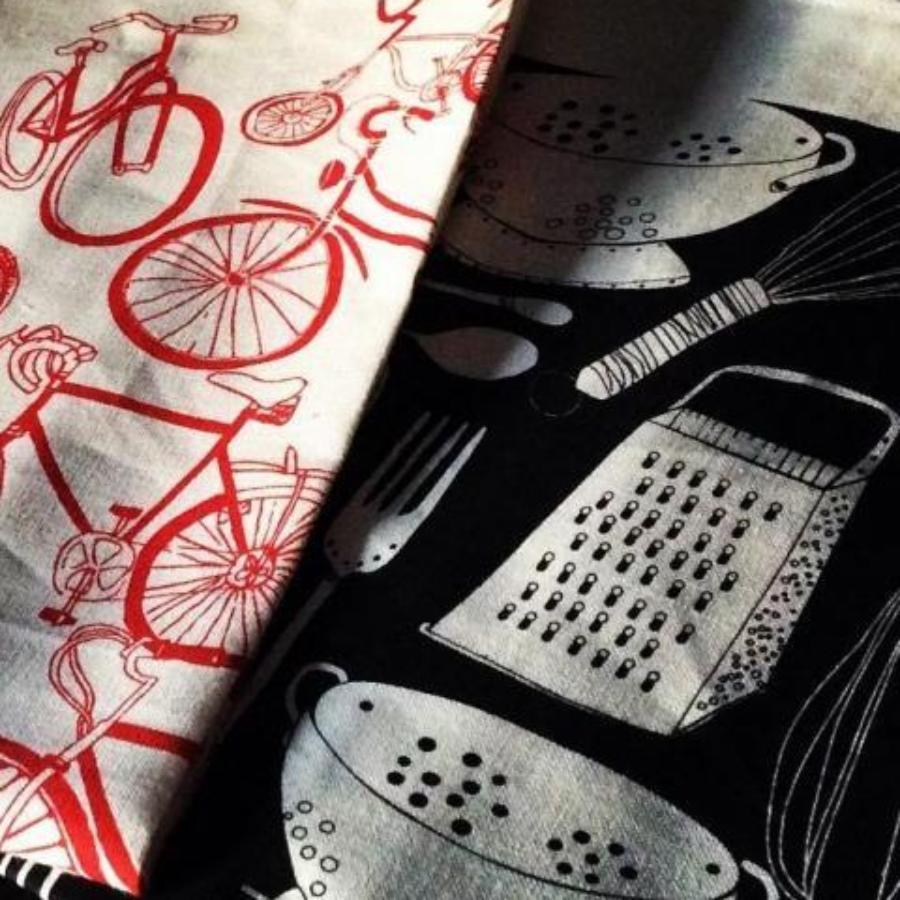 Utensils Linen Tea Towel
