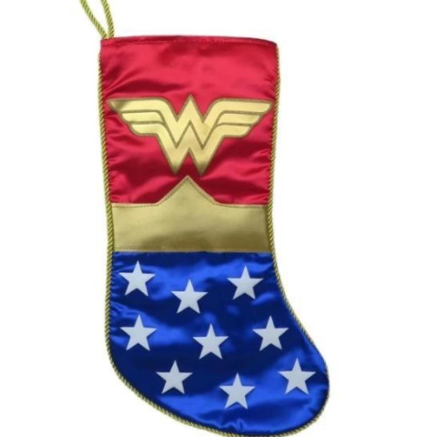 Wonder Woman Symbol Christmas Stocking