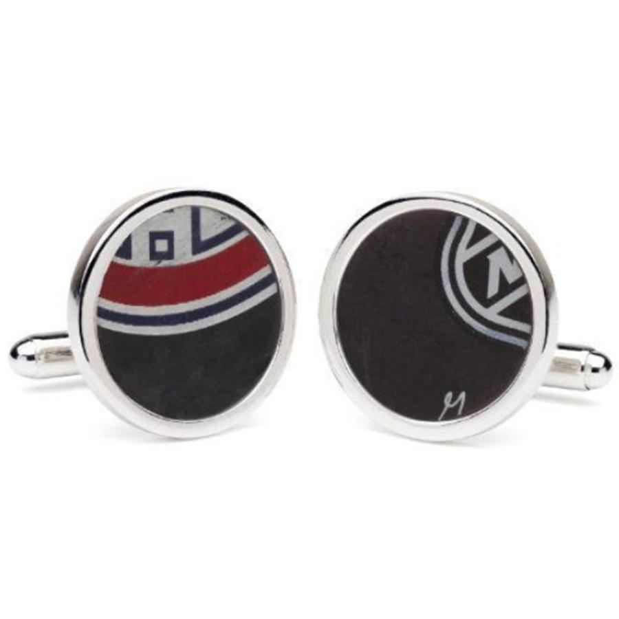 Montreal Canadiens Game Played NHL Hockey Puck Cufflinks