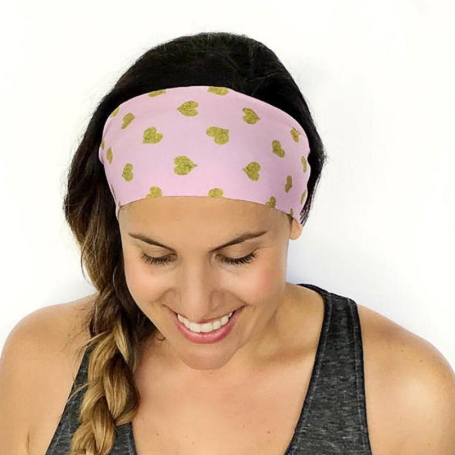 Heart of Gold Fitness & Yoga Headband