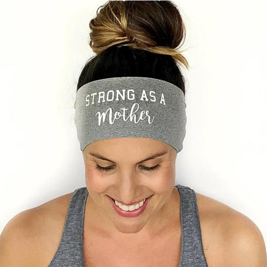 Strong as a Mother Fitness & Yoga Headband