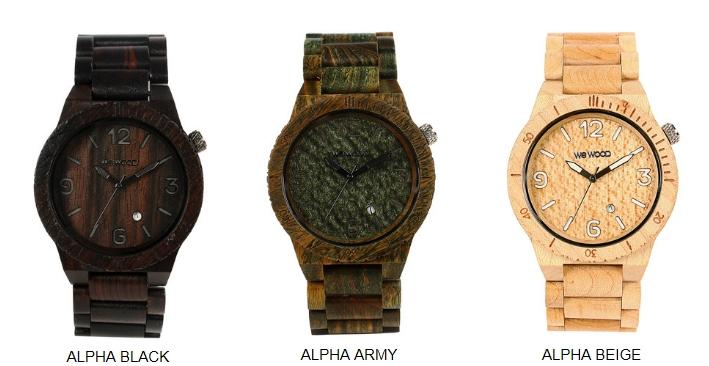 WeWOOD Alpha Watch