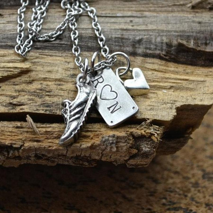 Run with Heart Necklace