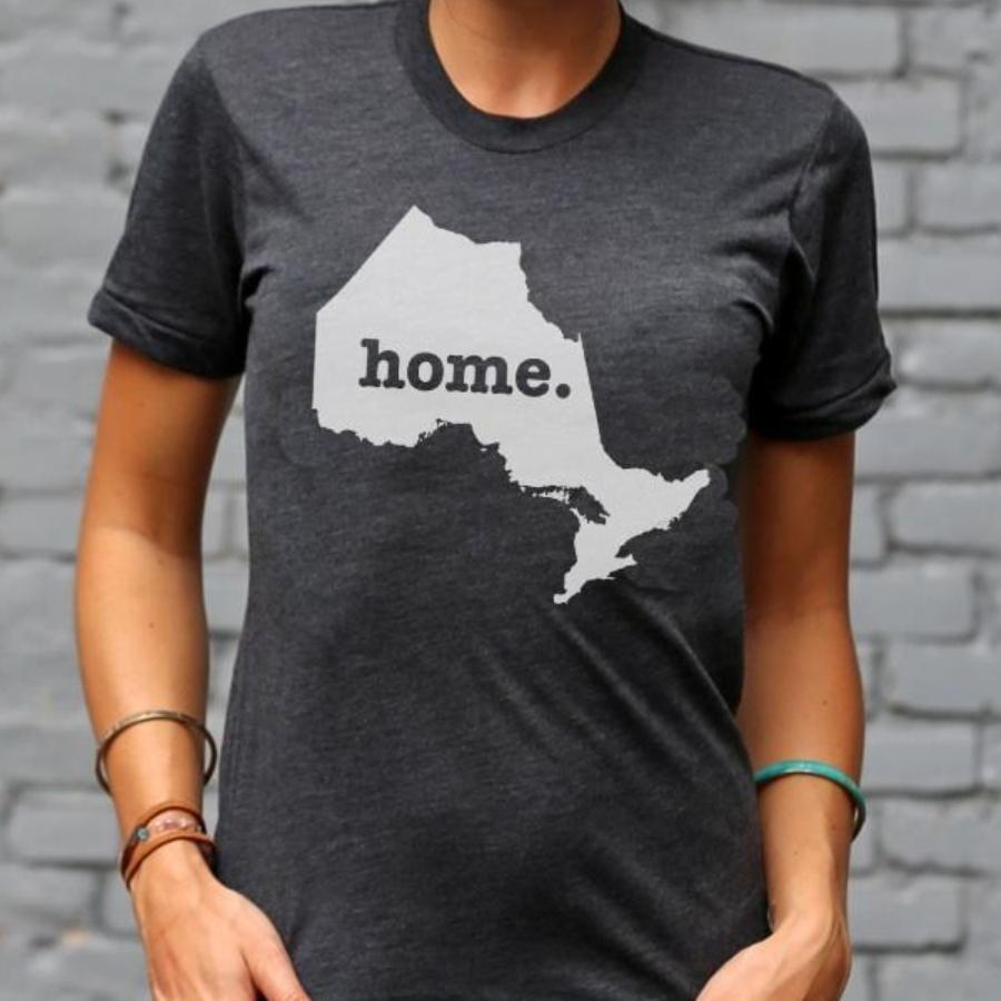 Ontario Home T Crew T-shirt