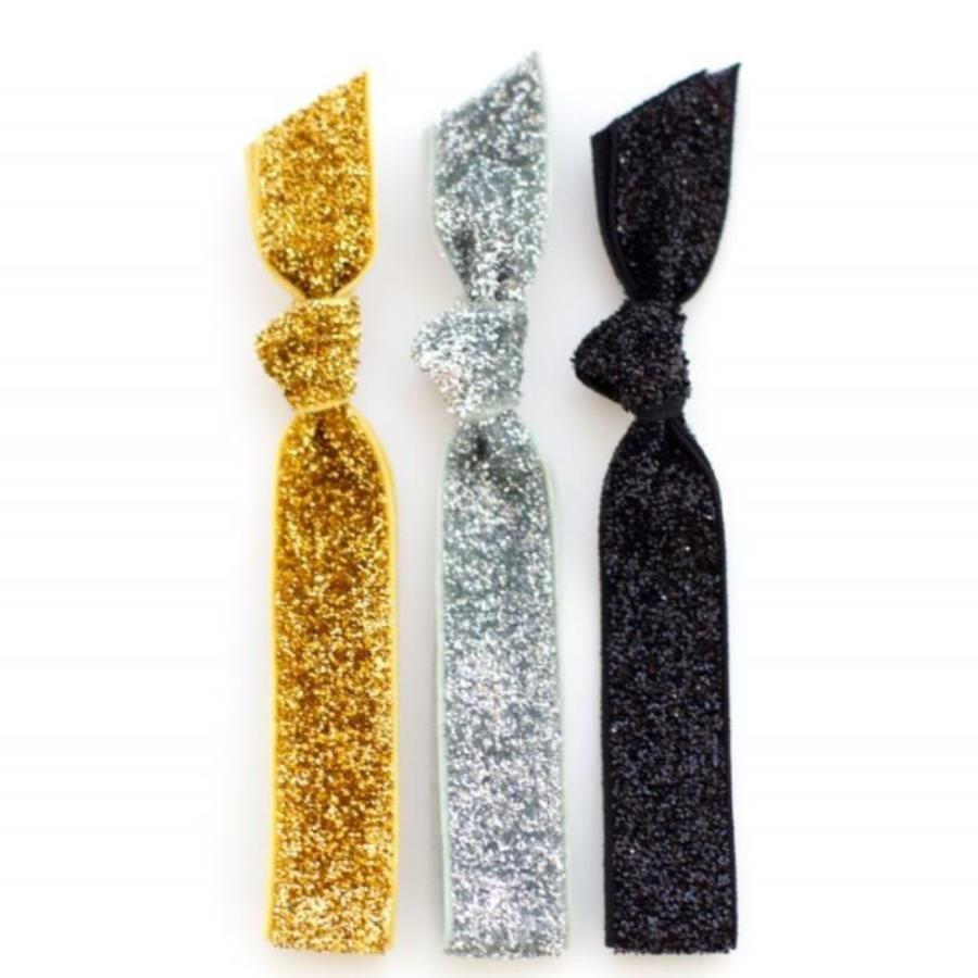 Glitter Hair Tie Package