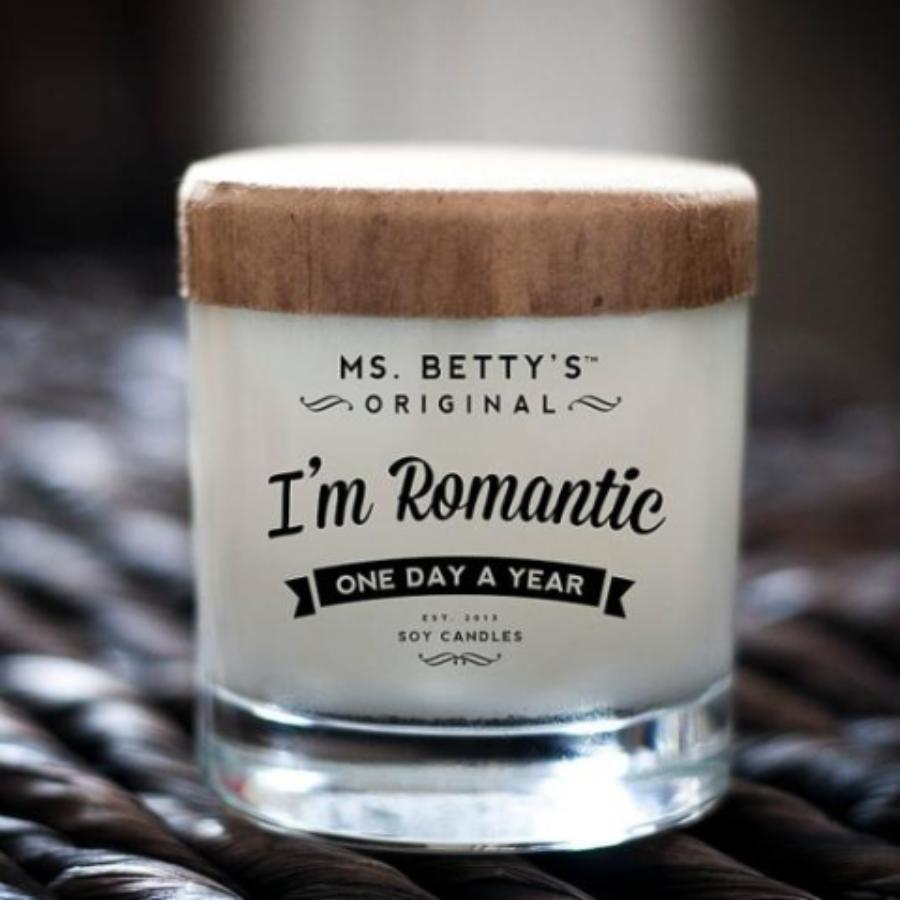 Ms Betty's BadAss Candles - I'm Romantic