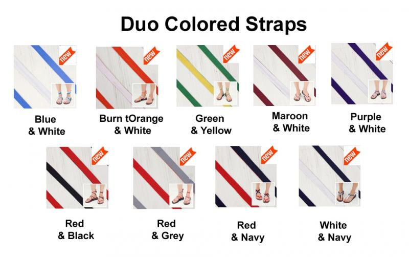 Sseko Ribbons - Duo Coloured