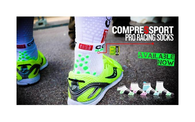 Pro Racing Compression Socks - Run High - V 2.0