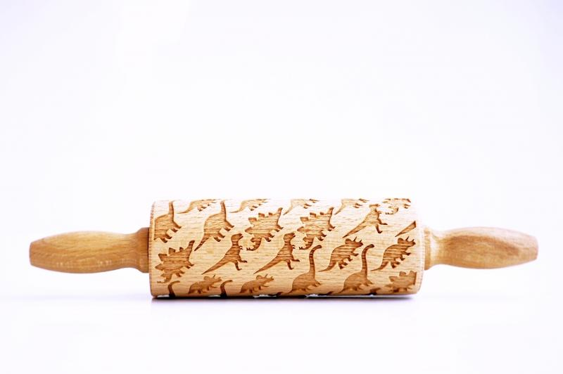 Kids Embossing Rolling Pin Set of 4