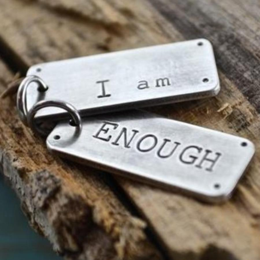 I am Enough Charm