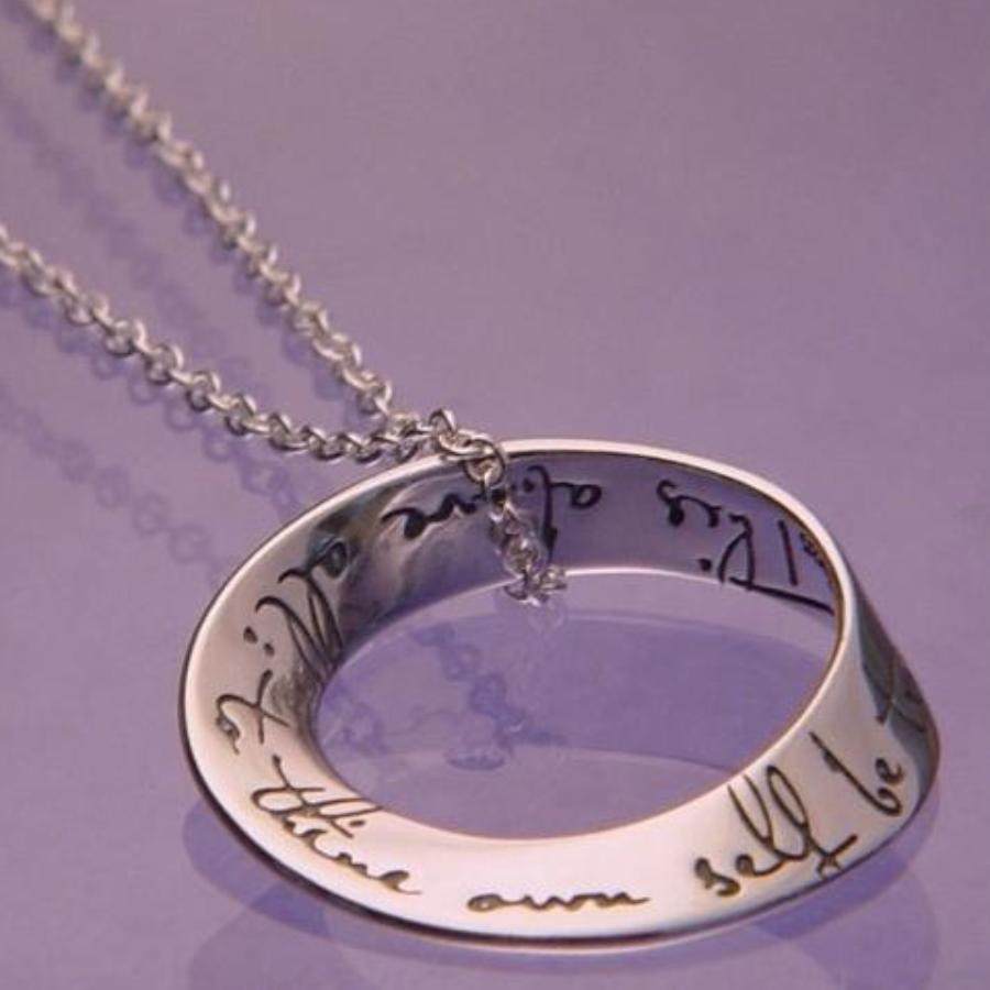 To Thine Own Self Be True Necklace