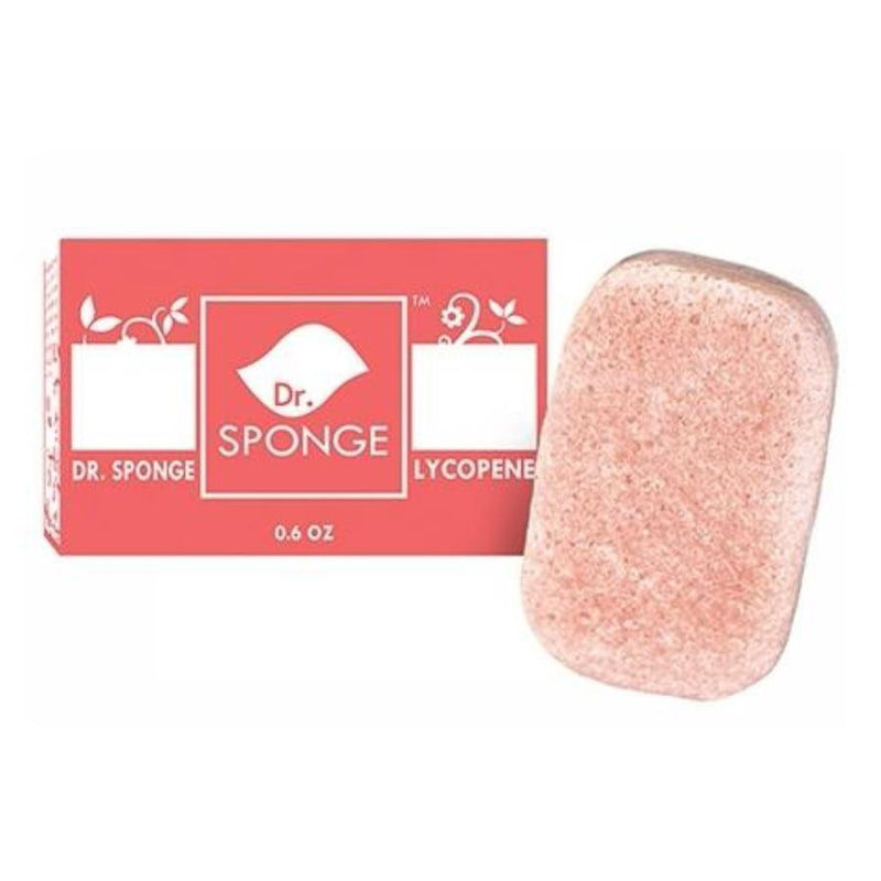 Dr Sponge - Pearl Powder Facial  Cleansing Sponge