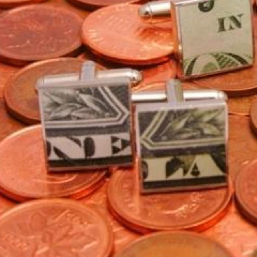 The Money Cufflink Collection
