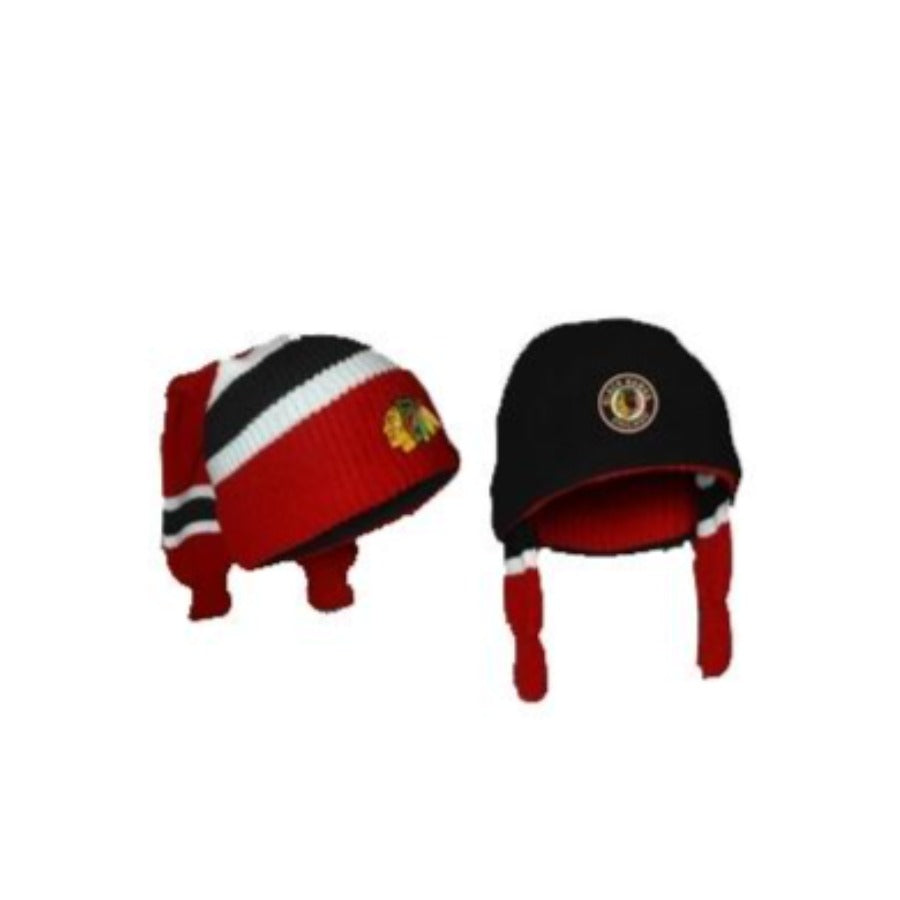 Chicago BlackHawks Hockey Sockey Toque