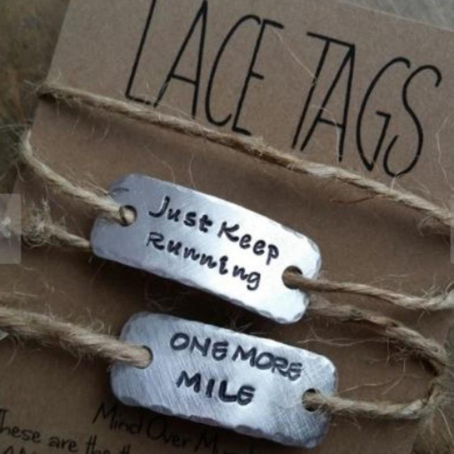 WTF Where is the Finish Shoe Lace Tag Set