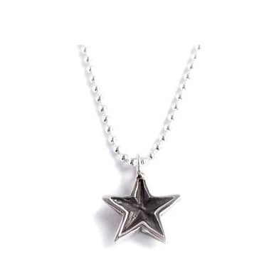 Mini Patina Star Necklace