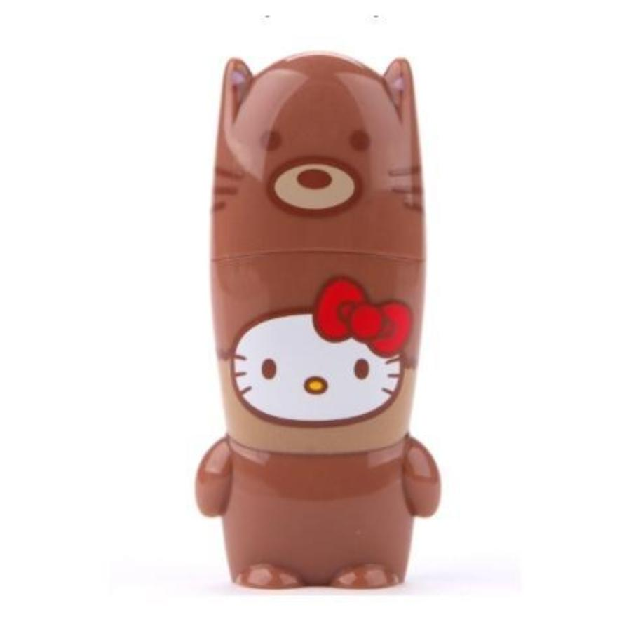 Hello Kitty Love Animals Brown Fox USB Key