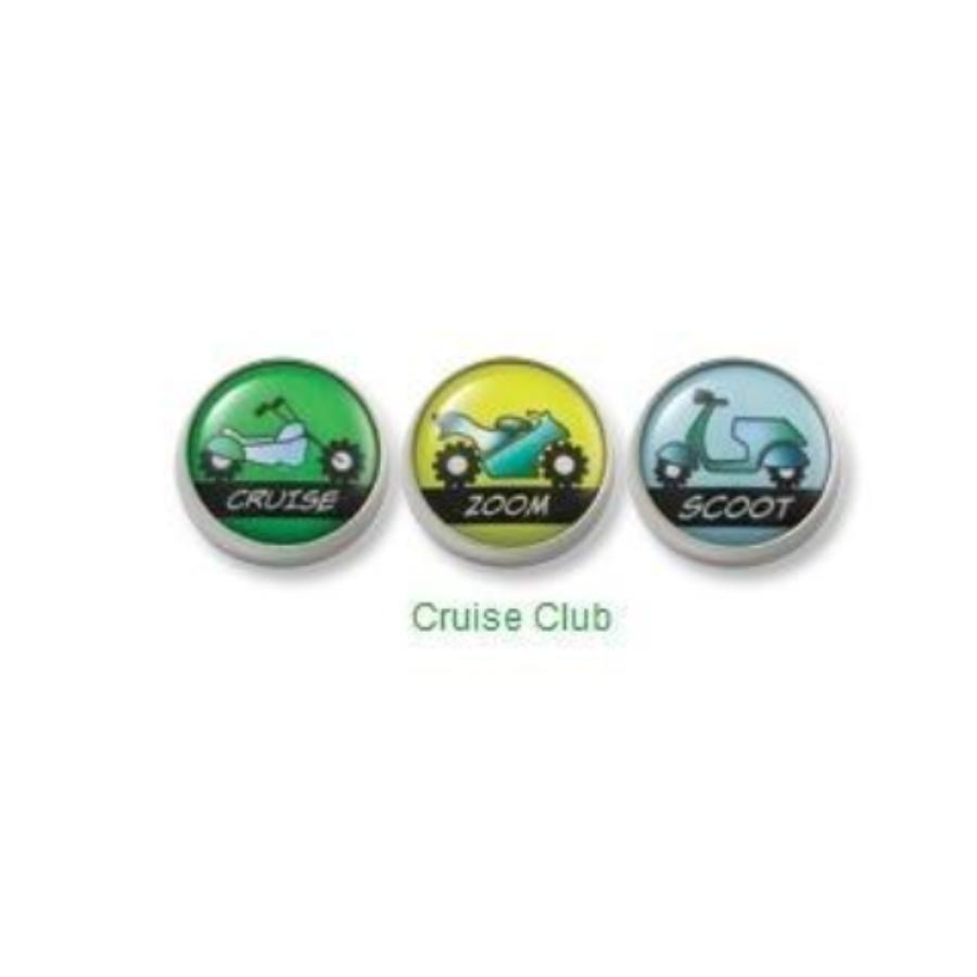 Cruise Club Mogo Charm Set