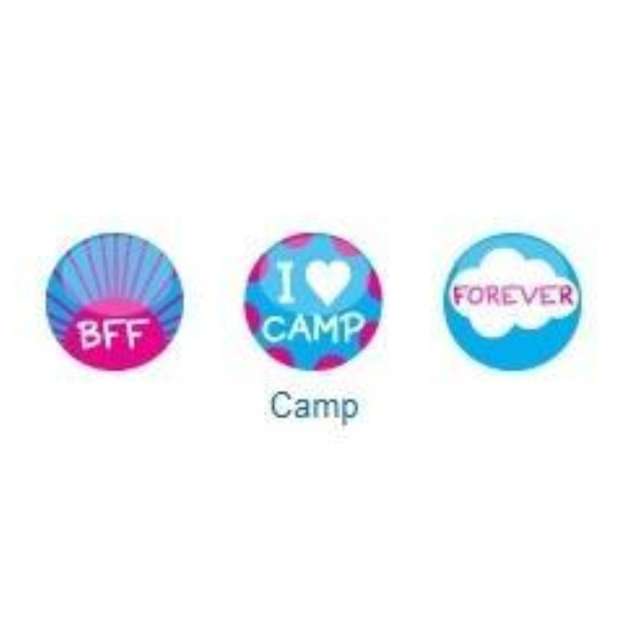 I Heart Camp Mogo Charm Set