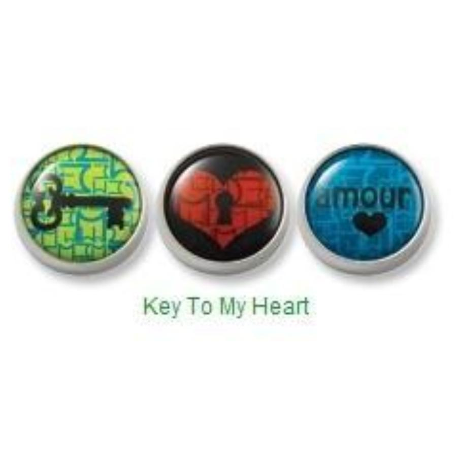Key To My Heart Mogo Charm Set