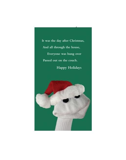 Sockem Holiday Cheer Greeting Card