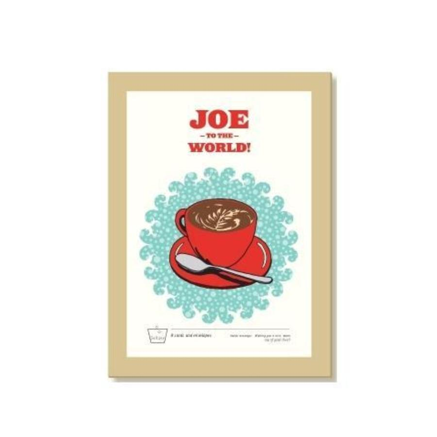 Joe to the World Holiday Greeting Card