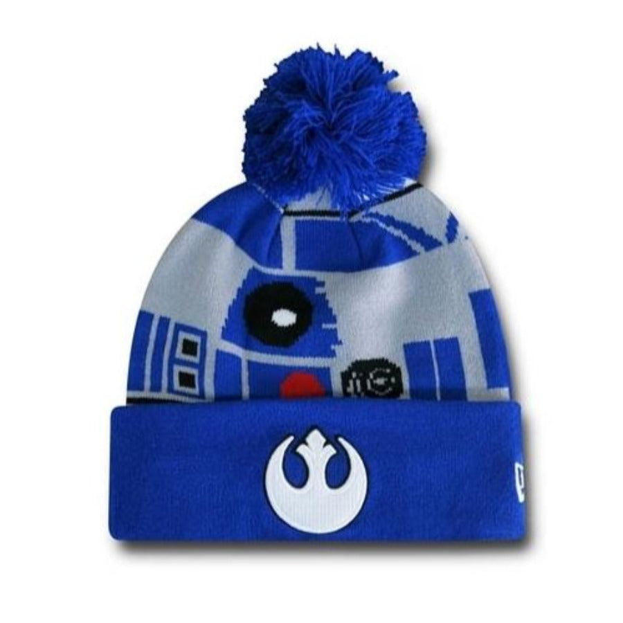 Star Wars R2D2 Pom Pom Hat