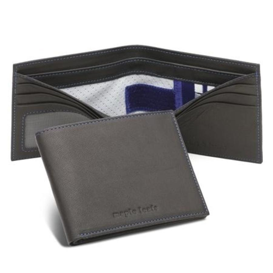 Toronto Maple Leafs Game Used NHL Hockey Uniform Wallet