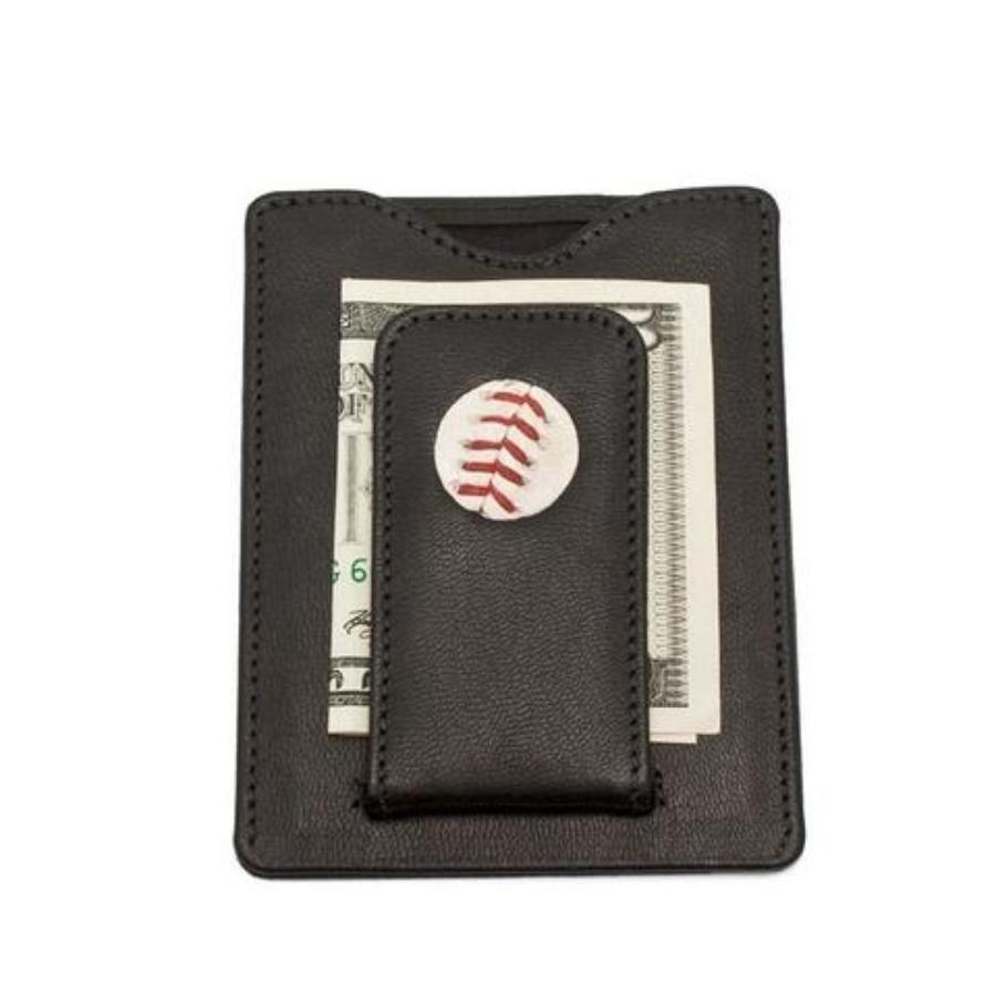 Toronto Blue Jays Game Used MLB Baseball Stitches Money Clip