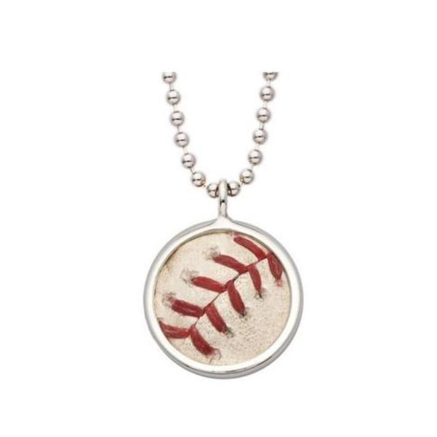 Toronto Blue Jays Game Used MLB Baseball Stitches Pendant