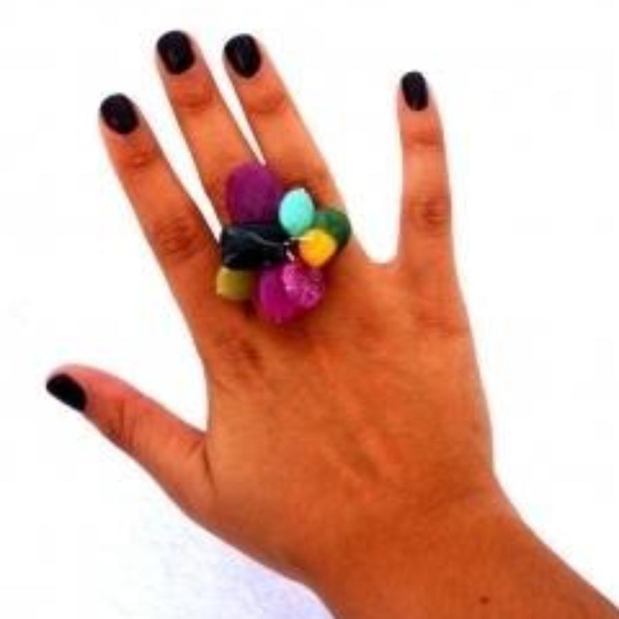 Rockstar Ring - Purple Multi