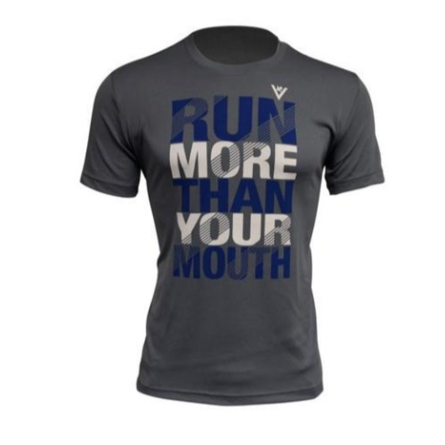Run More Than Your Mouth Performance Men's T