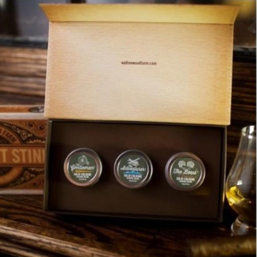 Men Don't Stink Canned Colonge Gift Set