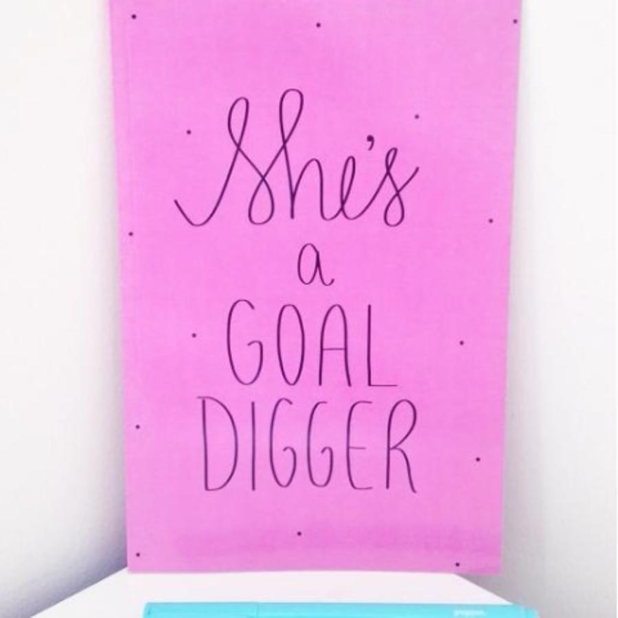 She's a Goal Digger Notebook
