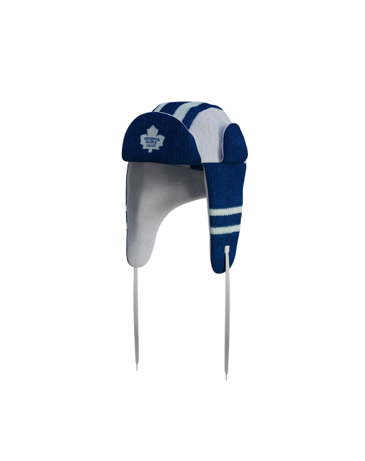 Toronto Maple Leafs Hockey Sockey Reversible NHL Trapper Hat