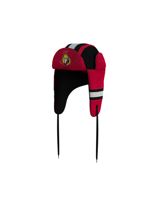 Ottawa Senators Hockey Sockey Reversible NHL Trapper Hat