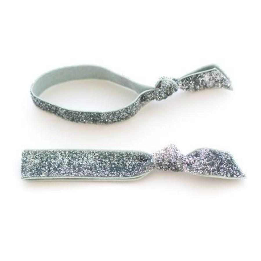 Glitter Hair Tie Duo Package