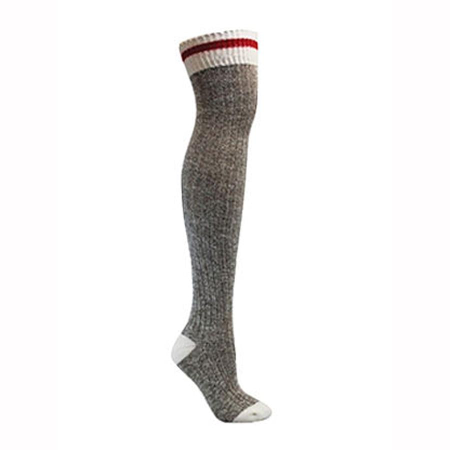 Proud To Be Canadian Knee High Cotton Socks