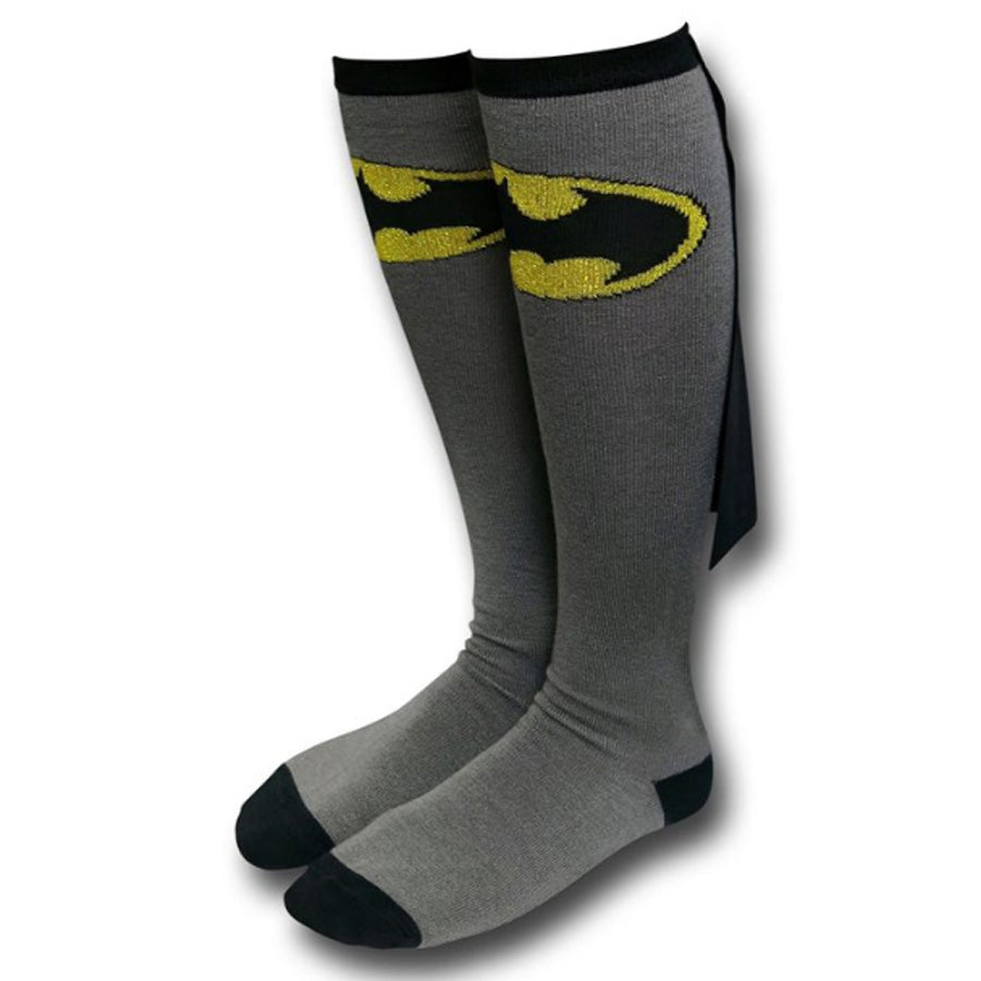 Batman Cape Knee High Socks